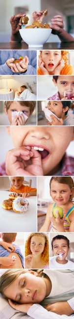 Stock Images - Kids' Health and Nutrition