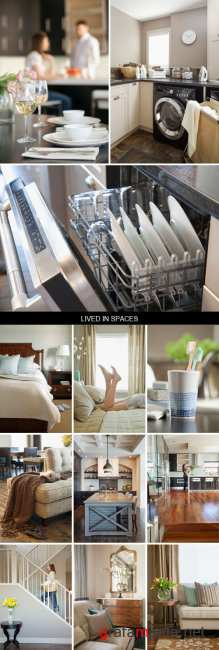 Stock Images - Lived In Spaces