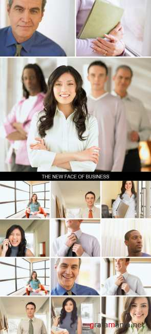 Stock Images - The New Face of Business