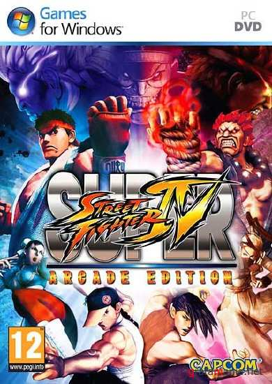 Super Street Fighter IV: Arcade Edition (2011) Repack by Dumu4
