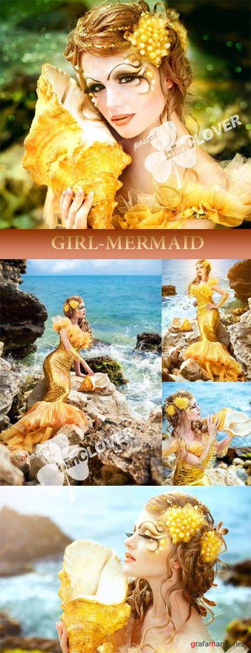 Girl-mermaid