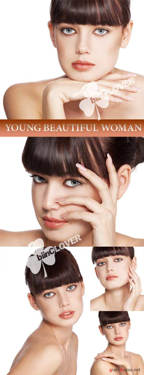 Young beautiful woman