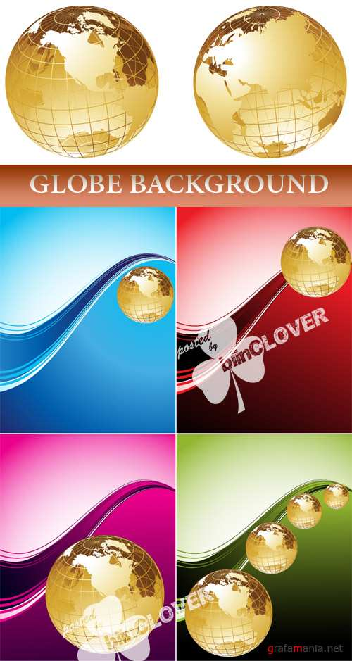 Globe background