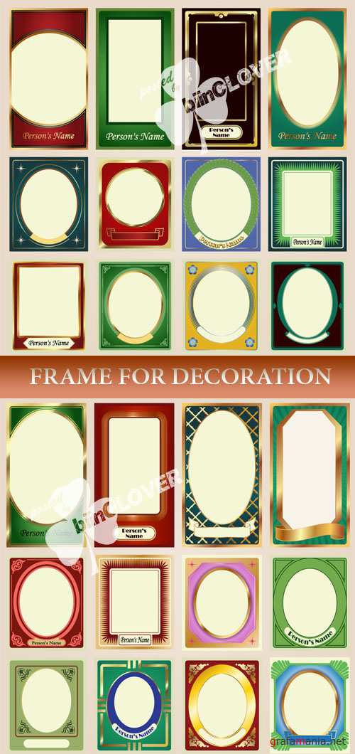 Frame  for decoration