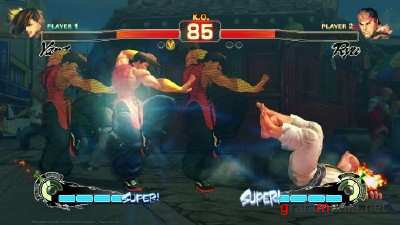 Super Street Fighter 4: Arcade Edition [v.1.0.0.1] (2011/RUS/ENG/Repack by RG Virtus)