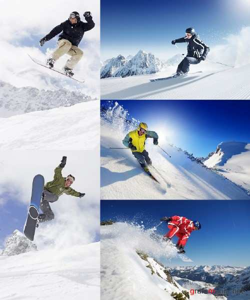 Extreme Skiers