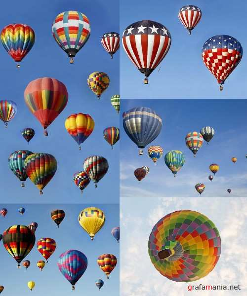 Colorful Hotest Air Balloons