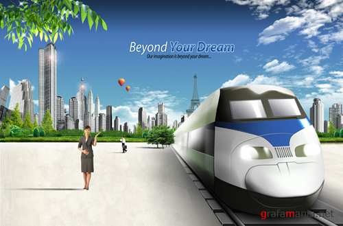 Sources - High-speed train
