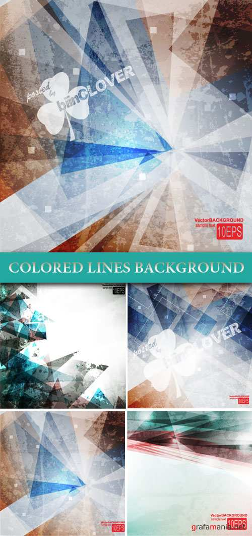 Colored lines background