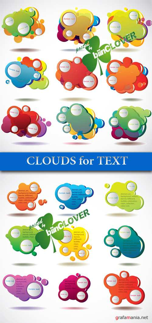 Clouds for text