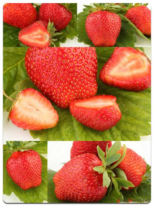 Strawberries - Stock Photo Images