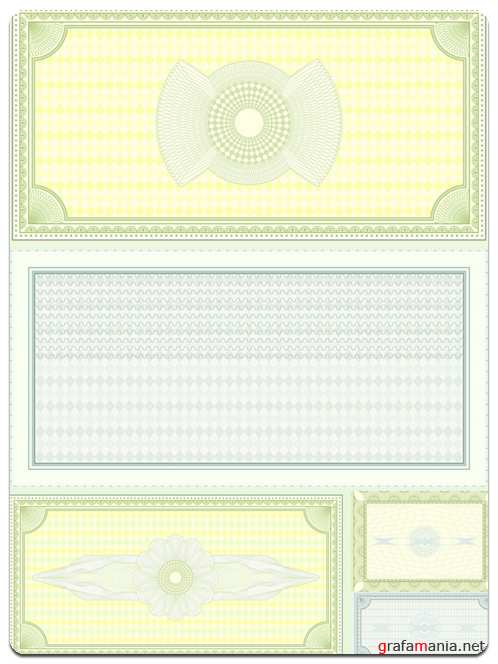 Backgrounds for Certificates - Vector Stock