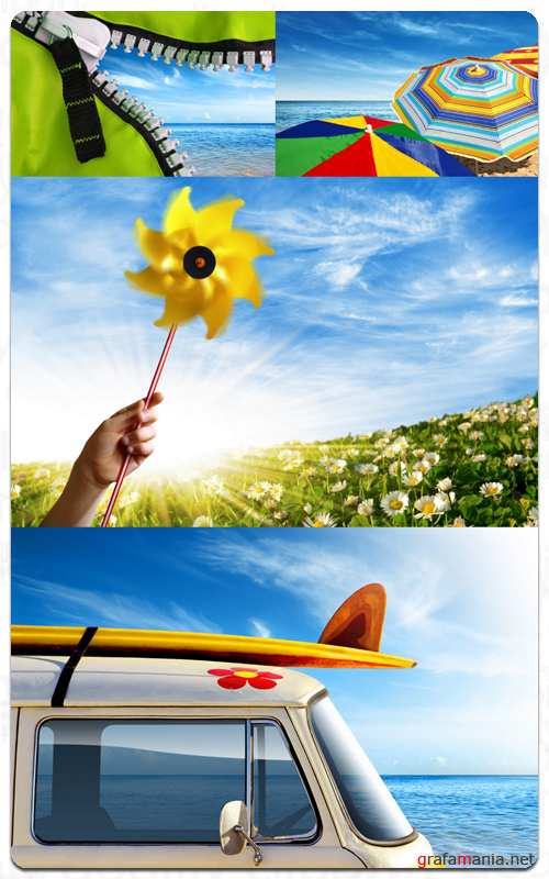 Summer Vacation - Stock Images