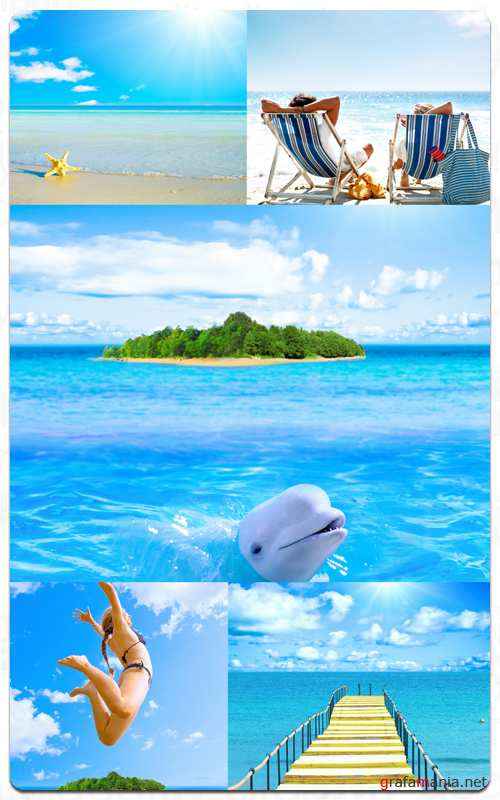 Tropical Vacations - Stock Images