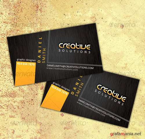 GraphicRiver – Modern business card