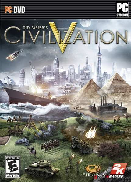 Sid Meier's Civilization 5. Deluxe Edition v. 1.0.1.348 + 10 DLC  (2010/RUS/RePack by Fenixx)