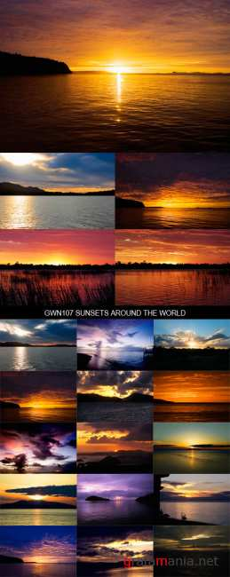 Stock Images - GWN107 Sunsets Around The World