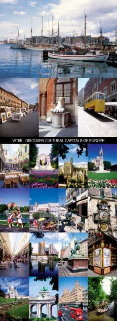 Stock Images - WT05 - Discover Cultural Capitals of Europe