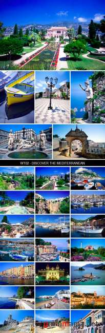Stock Images - WT02 - Discover The Mediterranean