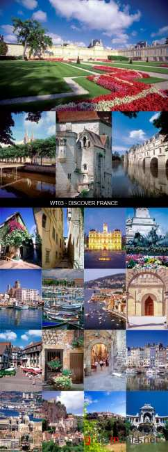 Stock Images - WT03 - Discover France