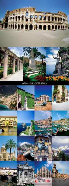 Stock Images - WT06 - Discover Italy
