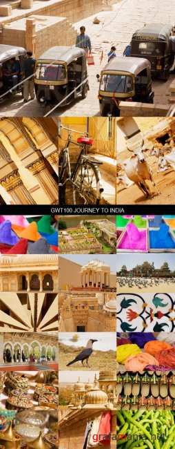 Stock Images - GWT-100 Journey To India