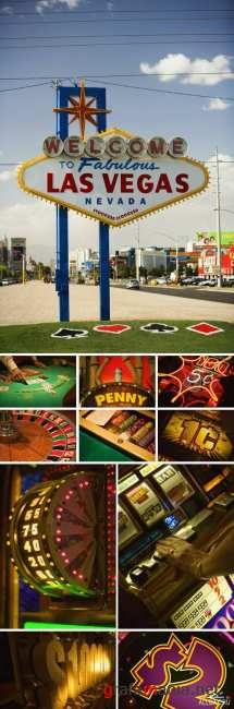 Stock Images - GWT-117 Flavor of Las Vegas Casinos