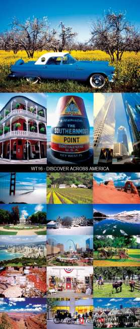 Stock Images - WT16 - Discover Across America