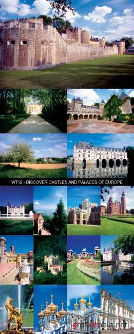 Stock Images - WT12 - Discover Castles and Palaces of Europe
