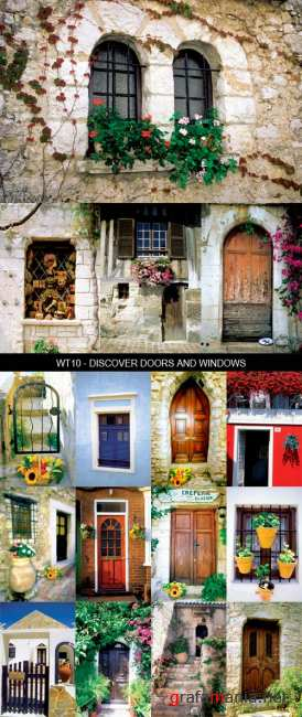 Stock Images - WT10 - Discover Doors and Windows