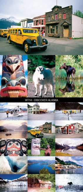 Stock Images - WT14 - Discover Alaska
