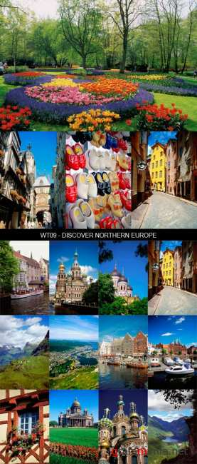Stock Images - WT09 - Discover Northern Europe