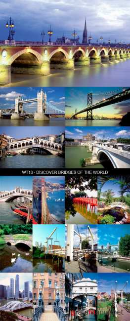 Stock Images - WT13 - Discover Bridges of the World