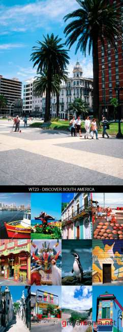 Stock Images - WT23 - Discover South America