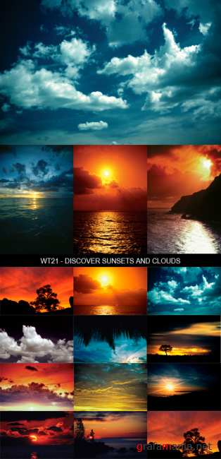 Stock Images - WT21 - Discover Sunsets and Clouds