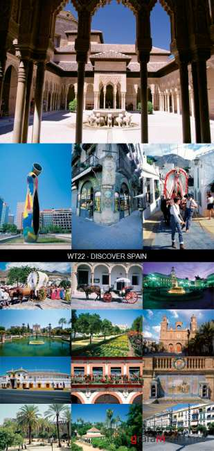 Stock Images - WT22 - Discover Spain