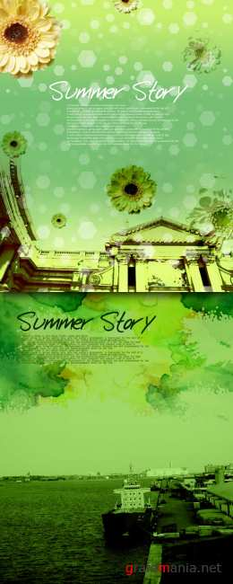Sources - Green Summer Day