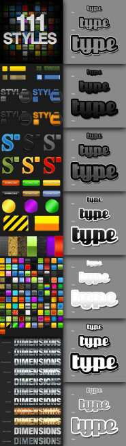 Styles for Photoshop