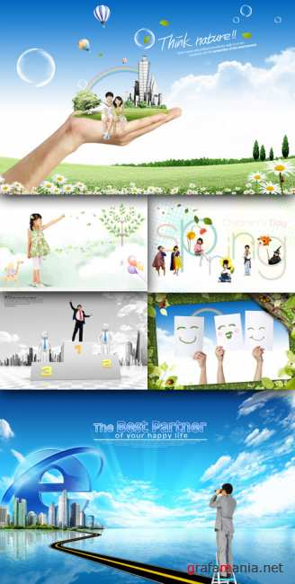 Collection source PSD Pack # 12
