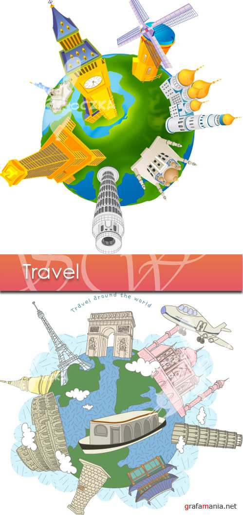 Travel vector21