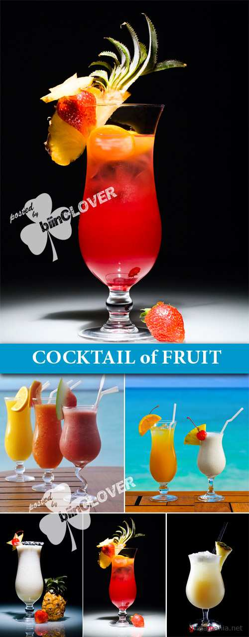 Cocktail of fruit