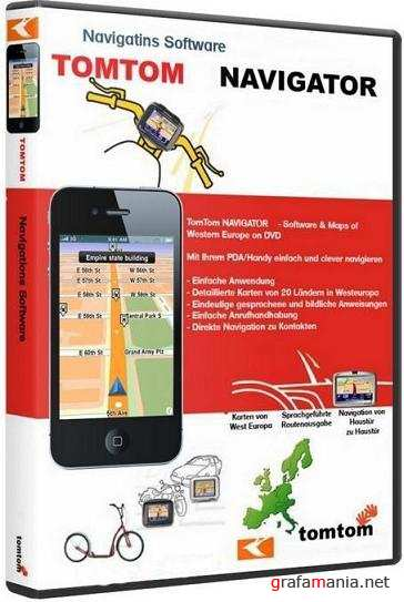 TomTom - Europe & Russia Map (2011/ML) build 875.3613