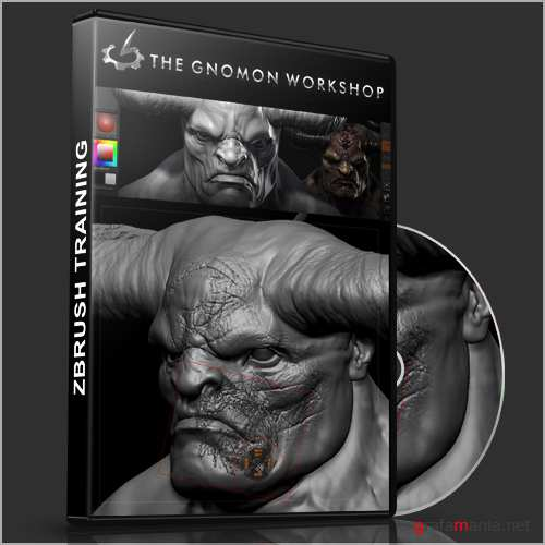 Gnomon - Introduction To Zbrush 4 With Scott Spencer [2011, ENG]