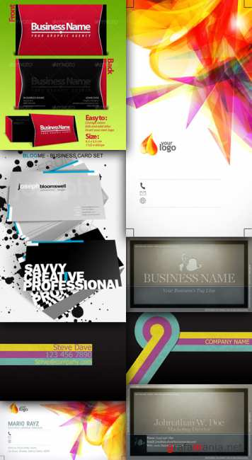 A collection of business cards # 2