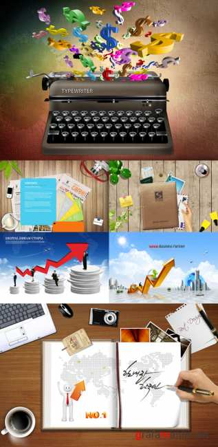 Collection source PSD Pack # 24