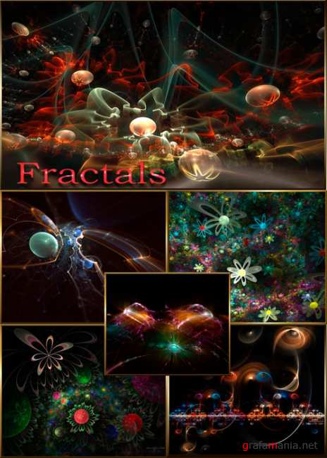Фракталы/Backgrounds fractals
