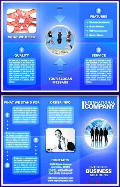 Brochure International company