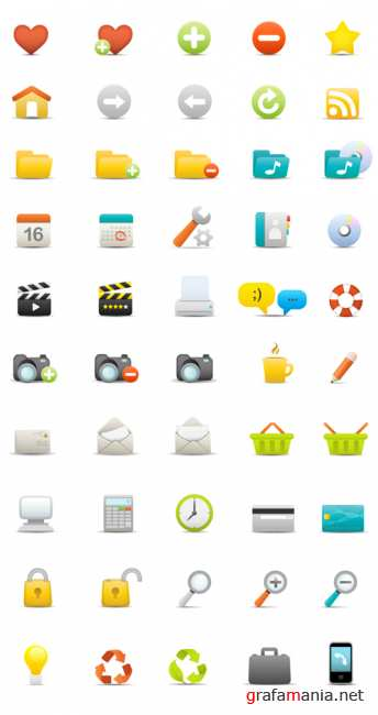 50 cool matte icons
