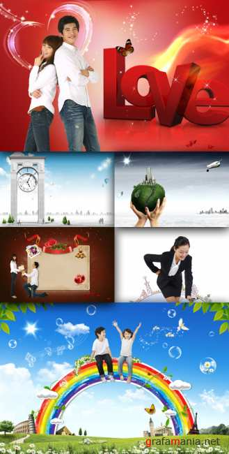 Collection source PSD Pack # 31