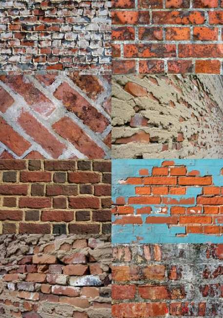 A set of old wall texture